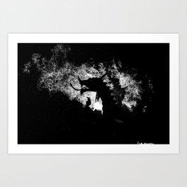 When Dragons Rain Fire Art Print