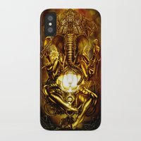 ganesha iPhone & iPod Cases featuring Ganesha by Giorgio Finamore