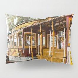 San Francisco Cable Car Pillow Sham