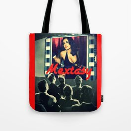 """Mextasy: """"LAURA MULVEY NOT INVITED"""" Tote Bag"""