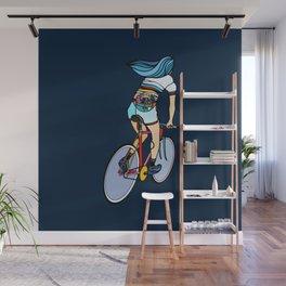 Fixie Girl Wall Mural