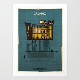 02_ARCHIWRITER_italo Calvino Art Print