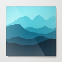 Mountain I Metal Print