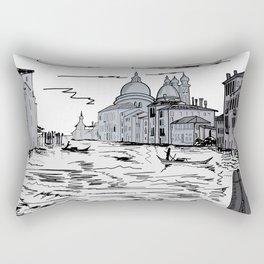 Venice . city on the water . Art Rectangular Pillow