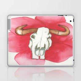 Death Meets the Flowers Laptop & iPad Skin