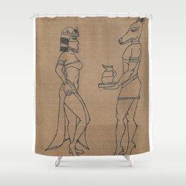 Egyptian Beauty 2 Shower Curtain