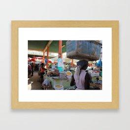 Merchants of Africa Framed Art Print