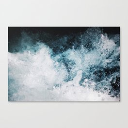 Blue Swells Canvas Print