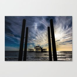 Brighton Seascape II Canvas Print