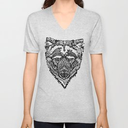 Spirit Bear Unisex V-Neck