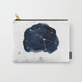 Zodiac Star Constellation - Cancer Carry-All Pouch
