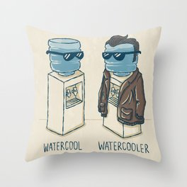 Watercool Throw Pillow