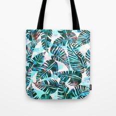 Lani Kai Leaf Green Tote Bag