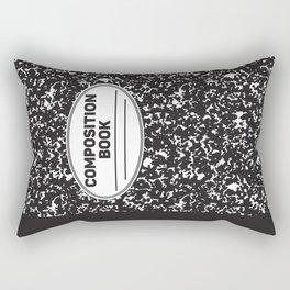 Composition Notebook College School Student Geek Nerd Rectangular Pillow