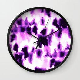 Kindred Spirits Purple Wall Clock