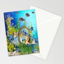 Unterwasserwelt Stationery Cards