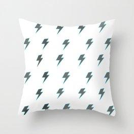 Bolt - Grey Throw Pillow