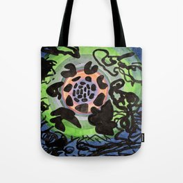 Space Debris Tote Bag