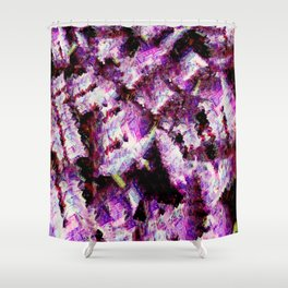 Purple Royale Shower Curtain