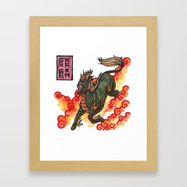 Legends - Kirin Framed Art Print