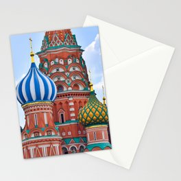 Domes Of St. Basil Stationery Cards