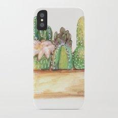 Cacti iPhone X Slim Case