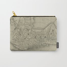 Vintage Map of Portland Maine (1902) Carry-All Pouch