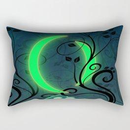 The Two Moons Rectangular Pillow