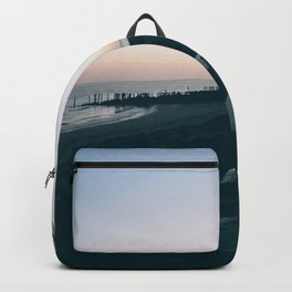 Sun Set Silhouette Backpack