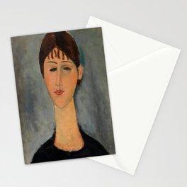 """Amedeo Modigliani """"Portrait of Mme Zborowska"""" Stationery Cards"""