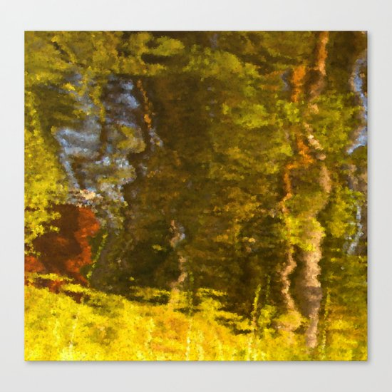 Abstract reflection I Canvas Print