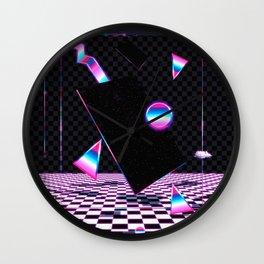 Retro Room Wall Clock