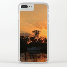 Flirting with Fire Clear iPhone Case