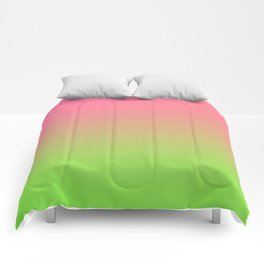 NEW ENERGY - Minimal Plain Soft Mood Color Blend Prints Comforters
