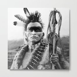 Native american Metal Print