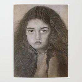 Girl Portrait Poster