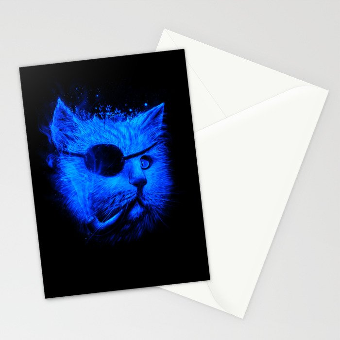 Irie Eye Blue Stationery Cards