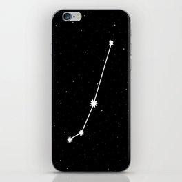 Aries Astrology Star Sign Night Sky iPhone Skin