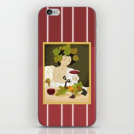 Bacco by Caravaggio iPhone Skin