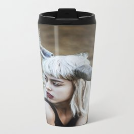 Girl with horns Travel Mug