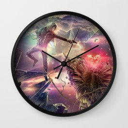 The Heart of Darkness Wall Clock