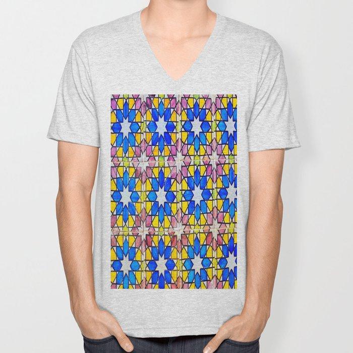 Azulejos - Portuguese tiles Unisex V-Neck