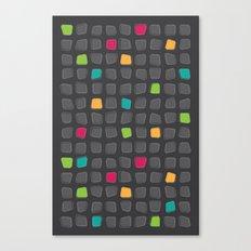 Funky Grid Canvas Print