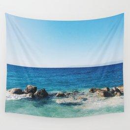 Allons À La Mer Wall Tapestry