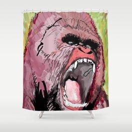 The gorilla  Shower Curtain