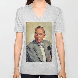 Noel Coward,Vintage Actor Unisex V-Neck
