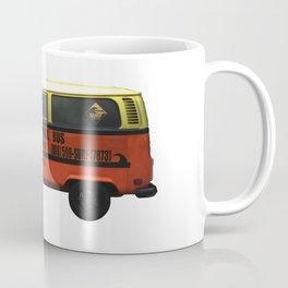 Surf School Bus Coffee Mug