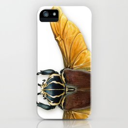 The Vintage Beetles Collection iPhone Case