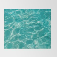 Cabo Water II Throw Blanket
