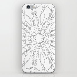 mandala art - moonrise kingdom iPhone Skin